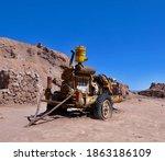 Rusty Machine Trailer In...