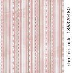 vintage style scrapbook... | Shutterstock . vector #186320480