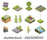 different types and sources of...   Shutterstock .eps vector #1863208543