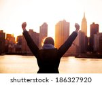 success silhouettes | Shutterstock . vector #186327920