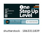 one step up level  modern and...   Shutterstock .eps vector #1863311839