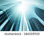 panoramic and prospective wide... | Shutterstock . vector #186335933
