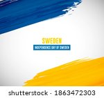 happy independence day of... | Shutterstock .eps vector #1863472303