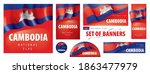 vector set of banners with the... | Shutterstock .eps vector #1863477979