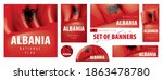 vector set of banners with the... | Shutterstock .eps vector #1863478780