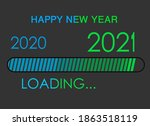 Poster Of Loading New Year 202...