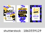 black friday sale banner... | Shutterstock .eps vector #1863559129