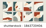 abstract scribble banners. hand ...   Shutterstock .eps vector #1863720406