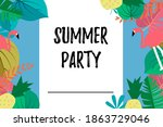 a design template that says... | Shutterstock .eps vector #1863729046