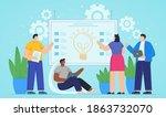 illustration vector graphic of... | Shutterstock .eps vector #1863732070