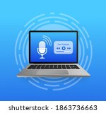 design template with podcast...