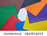 Stationery. Sheets Of Colored...
