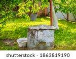 Old Well Near The Walnut Tree...