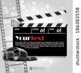 vector info graphic background  ... | Shutterstock .eps vector #186383558