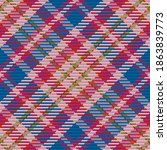 seamless pattern of scottish... | Shutterstock .eps vector #1863839773