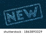 new word in digital style.... | Shutterstock .eps vector #1863893329