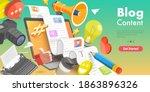 3d vector conceptual... | Shutterstock .eps vector #1863896326