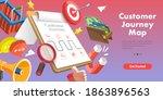 3d isometric flat vector... | Shutterstock .eps vector #1863896563