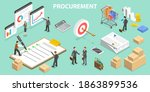 3d isometric fla conceptual... | Shutterstock . vector #1863899536