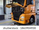 Service Maintenance Of Trucks....
