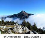 Scenic View Of Mountain Storzic ...