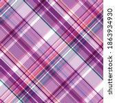 seamless checkered diagonal... | Shutterstock .eps vector #1863934930
