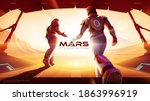 vector illustration of two... | Shutterstock .eps vector #1863996919