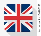 simple flat icon great britain...