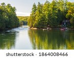 Cottage Country Scene In...