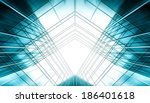 panoramic and prospective wide... | Shutterstock . vector #186401618