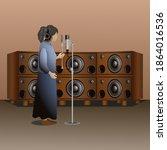 illustration vector design of... | Shutterstock .eps vector #1864016536