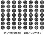 web linear icons. set of...   Shutterstock .eps vector #1864069453