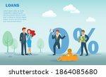 home loan  refinance house ...   Shutterstock .eps vector #1864085680