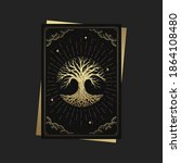 tree of life. magic occult...   Shutterstock .eps vector #1864108480