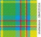 seamless pattern of scottish... | Shutterstock .eps vector #1864121116