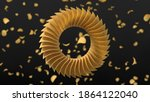 circularly sorted crunchy... | Shutterstock . vector #1864122040