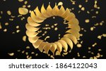 circularly sorted crunchy... | Shutterstock . vector #1864122043