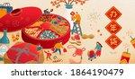 banner illustration of... | Shutterstock . vector #1864190479
