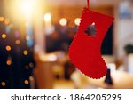 Christmas Red Felt Stocking...