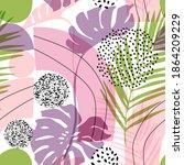 abstract graphics summer...   Shutterstock .eps vector #1864209229