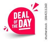 vector illustration round deal... | Shutterstock .eps vector #1864211260
