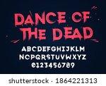 vector illustration grunge... | Shutterstock .eps vector #1864221313