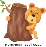 illustration of  isolated cute...   Shutterstock . vector #186433280