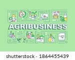 agribusiness word concepts...