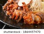 Korean Seafood Webfoot Octopus...