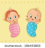 Twin Babies Free Vector Art 1057 Free Downloads