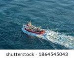 Fishing Boat Sailing Towards...