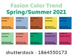 fashion color trend spring... | Shutterstock .eps vector #1864550173