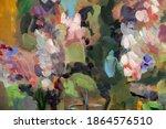 Picturesque Bouquet Of Lilacs...