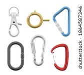 Carabiner Clasps Various Round  ...